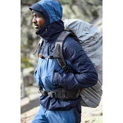 Mochila trekking montaña TREK900 50L + 10L hombre Gris