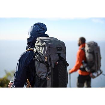 Muts voor bergtrekking merinowol Trek 500 blauw