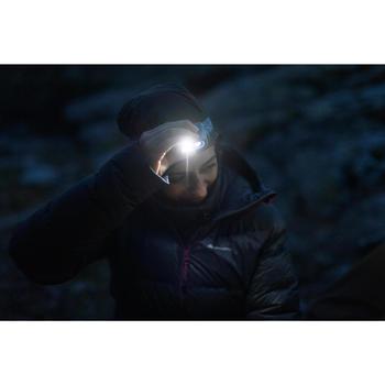 Lampe frontale de trekking rechargeable - TREK 500 USB bleue - 200 lumens