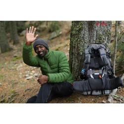 Donsjas voor trekking heren Trek 500 groen