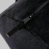 Girls' Dance Barrel Bag - Black Glitter