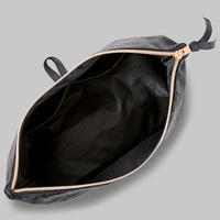Multi-Compartment Dance Shoe Pouch Black
