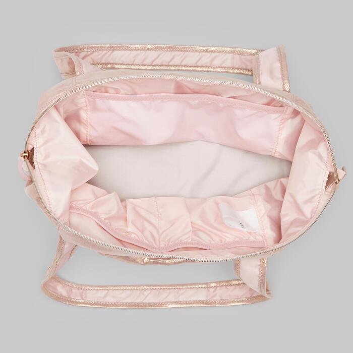 Tas voor dans meisjes roségoud