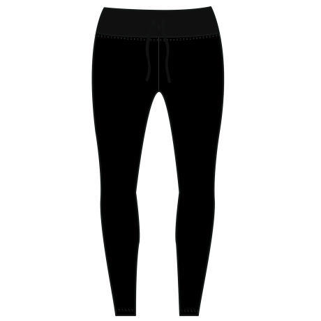 LEGGING UV 100L F BLACK