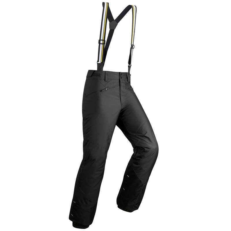 MEN'S JACKETS OR PANTS BEGINNER SKIERS Skiing - M D-SKI Trousers 180 - Black WEDZE - Ski Wear