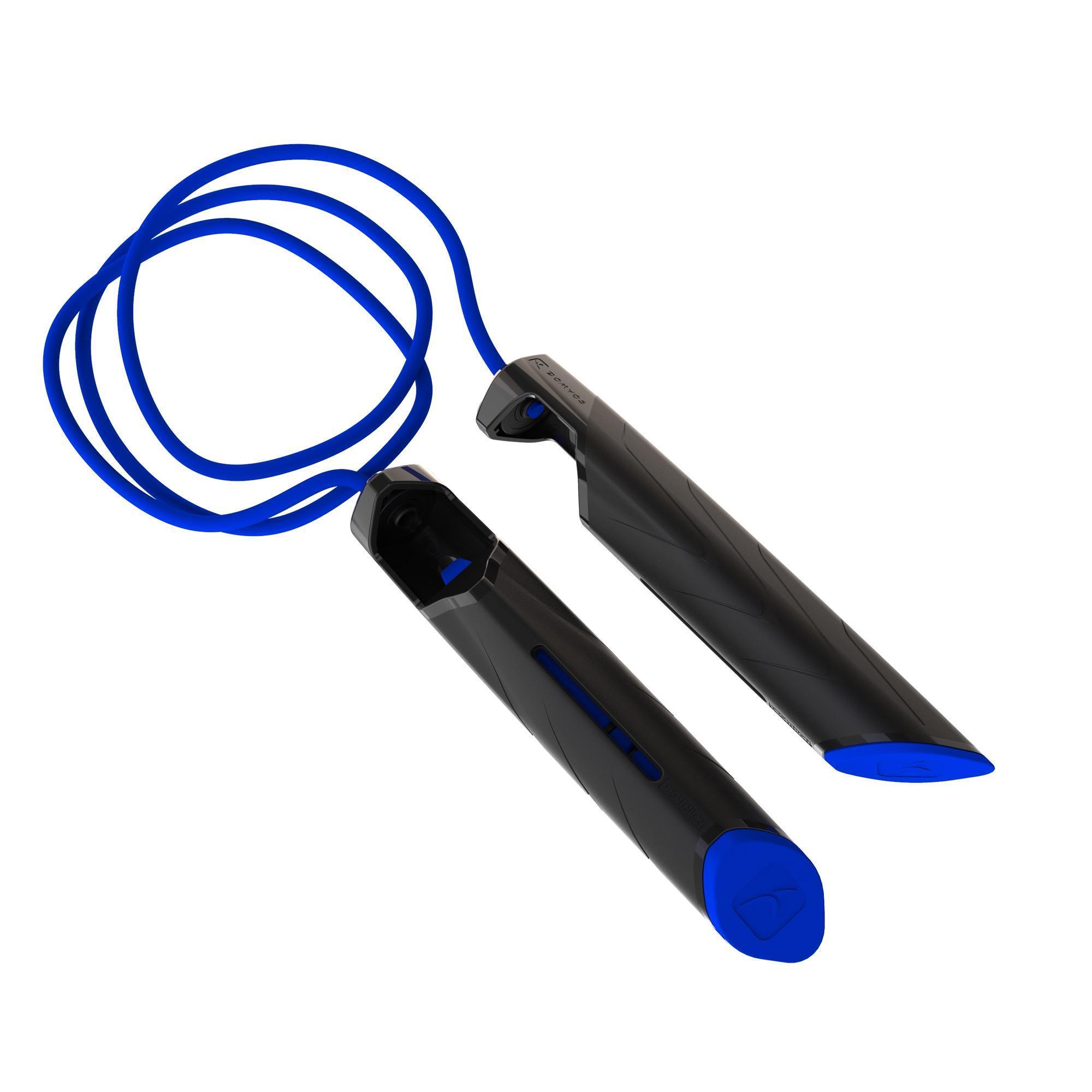 Domyos Springtouw 500 blauw