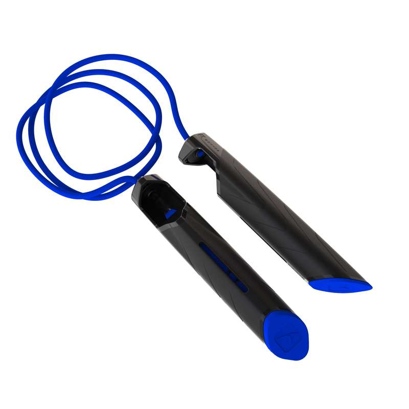 FITNESS CARDIO JUMPING ROPES Fitness and Gym - 500 Skipping Rope - Blue DOMYOS - Fitness and Gym