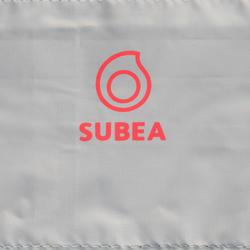 Tas voor snorkelst (zwemvliezen, duikbril en snorkel) 100 L grijs