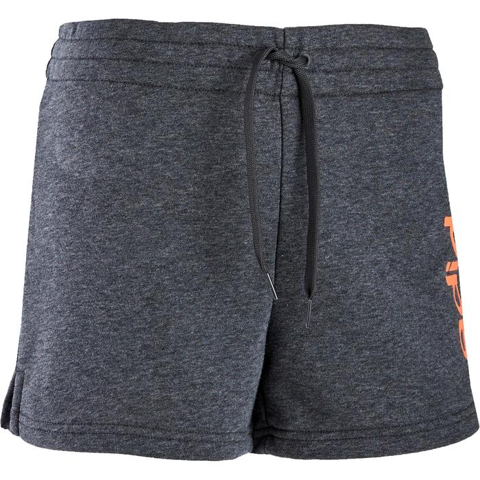 Short Adidas Pilates Gym douce femme gris