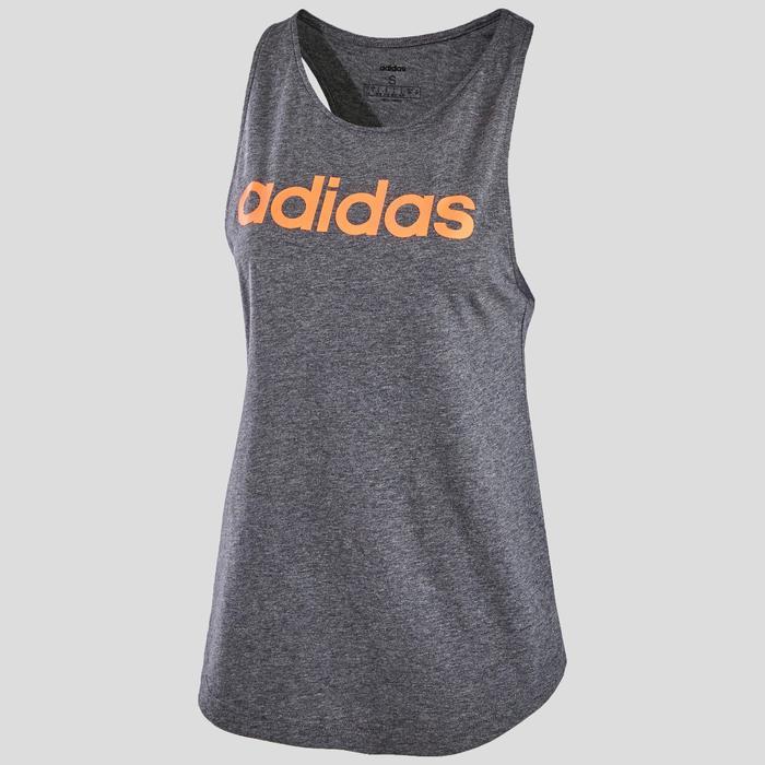 Débardeur Adidas femme gris