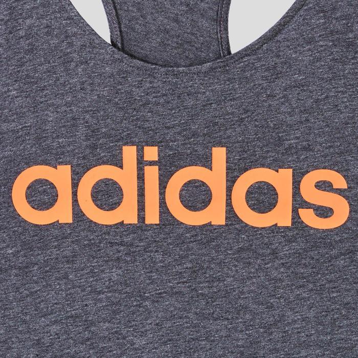 Débardeur Adidas Pilates Gym douce femme gris