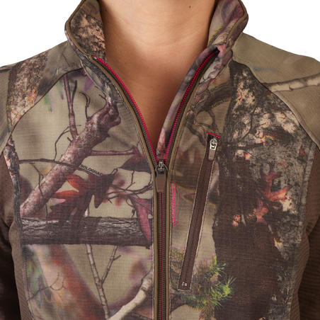 CAMO BROWN LIGHT 500 SILENT WARM BREATHABLE WOMEN'S HUNTING JACKET