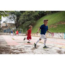 Hallenschuhe Futsal Fußball Eskudo 500 Kinder grau