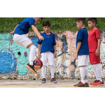 Zaalvoetbalschoenen kind Eskudo 900 zwart/oranje