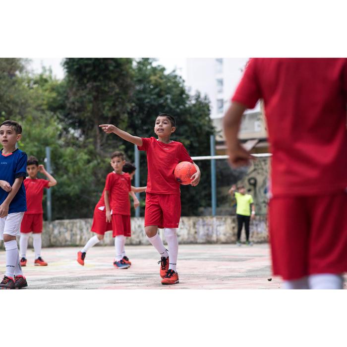 Zaalvoetbalschoenen voor kinderen Eskudo 500 rood