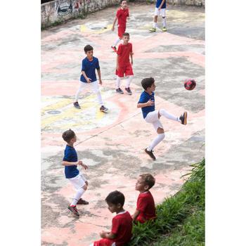 Zapatillas Fútbol Sala Júnior ESKUDO 900 Negro Naranja