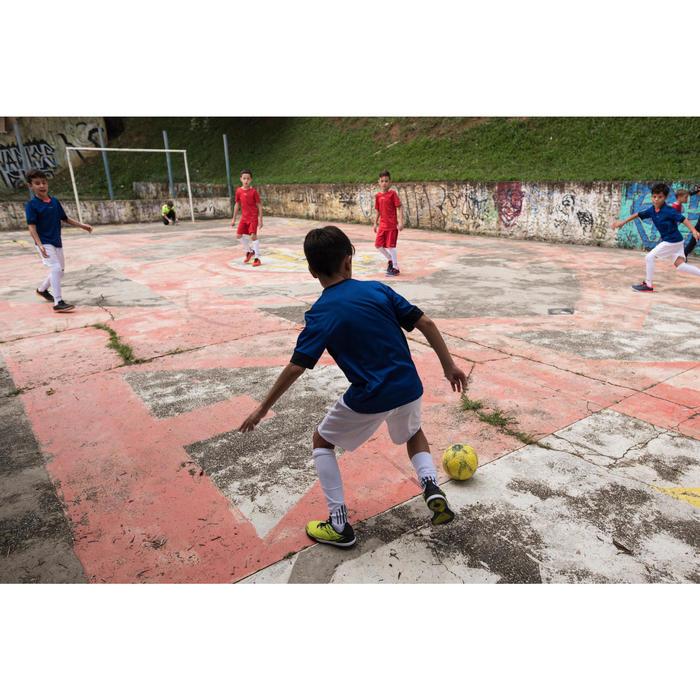 Kids' Futsal Trainers Eskudo 500 - Yellow
