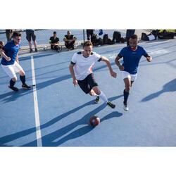 Hallenschuhe Futsal Fußball Eskudo 500 Erwachsene grau/gelb