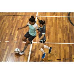 Bal voor zaalvoetbal FS900 63 cm wit en grijs