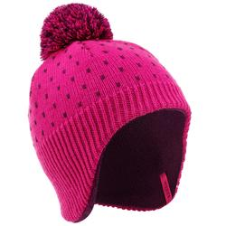 BONNET DE SKI ENFANT FLAP KID ROSE