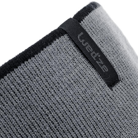 CHILDREN'S REVERSE SKIING HEADBAND - BLACK GREY