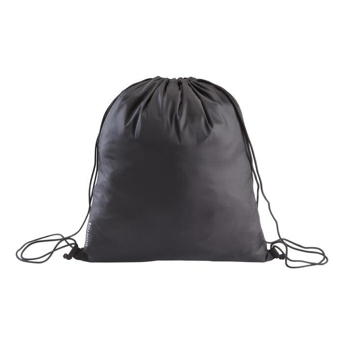 Fold-down Fitness Shoe Bag - Black