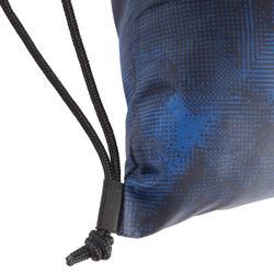 Opvouwbare tas voor fitnessschoenen camouflage blauw