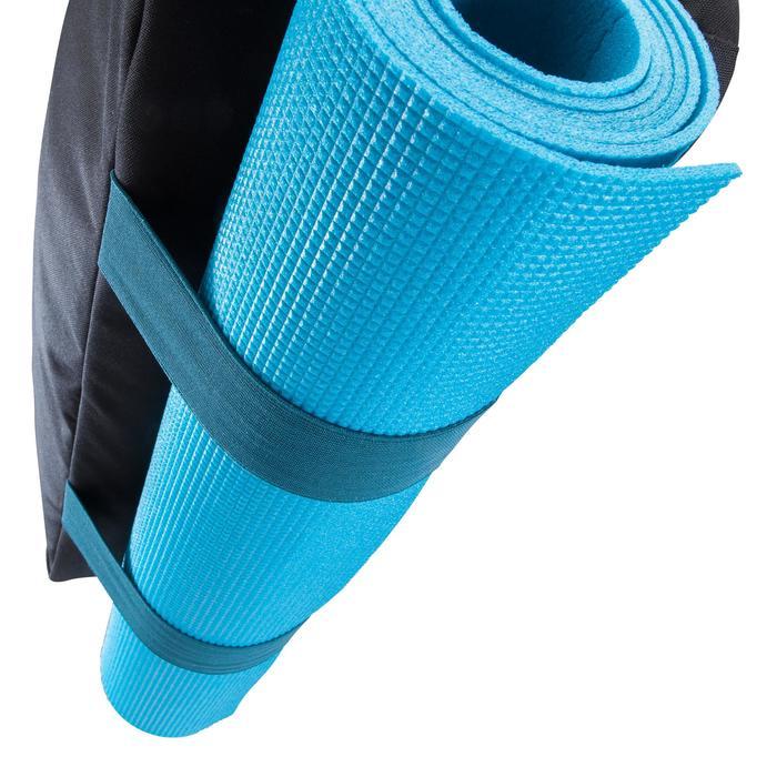 Sporttas fitness 30 liter, zwart/petrol