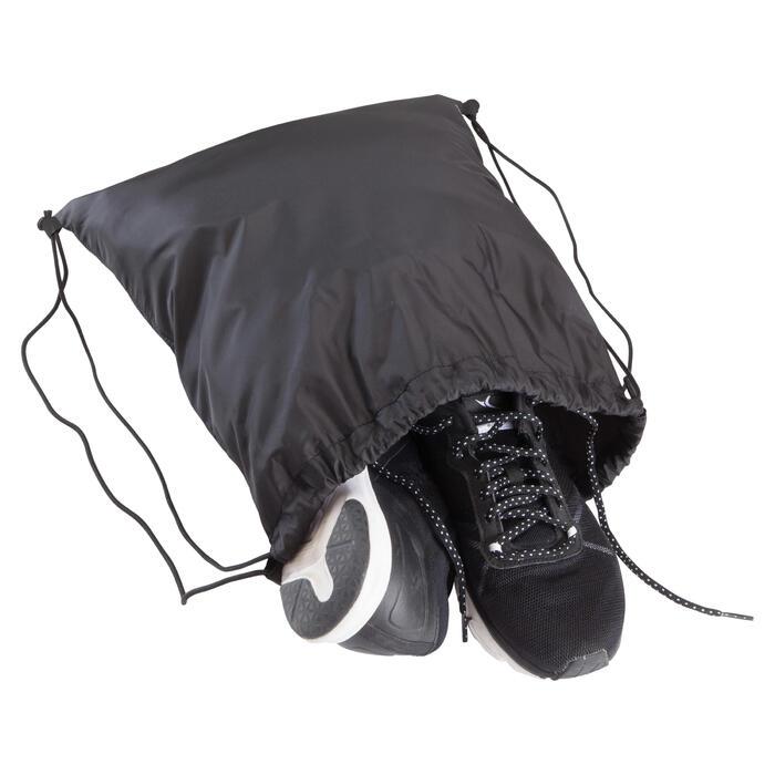 Schuhtasche Fitness faltbar schwarz