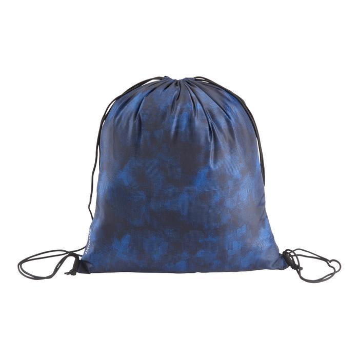 Opvouwbare schoenenzak voor de fitness camouflage blauw