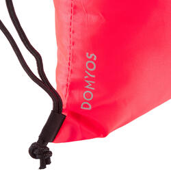 Mochila de cuerdas calzado Cardio Fitness Domyos coral