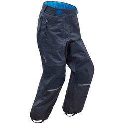 Children's warm snow hiking trousers SH500 U-warm for boys age 2-6 - Blue