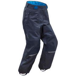 Pantalón cálido de senderismo nieve júnior SH500 2-6 u-warm niños 2-6 años azul