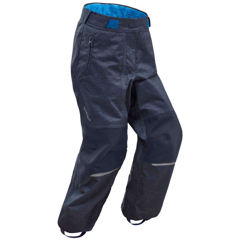 ABBIGLIAMENTO NEVE BIMBO Sport di Montagna - Pantaloni bambino SH500 U-WARM QUECHUA - Trekking bambino