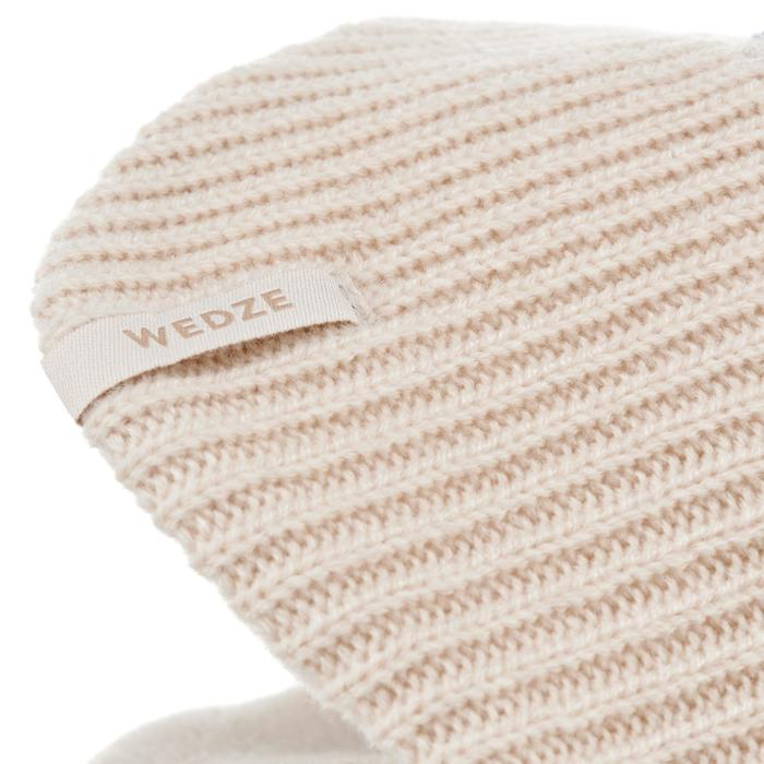 BONNET DE SKI ENFANT FLAP KID BEIGE
