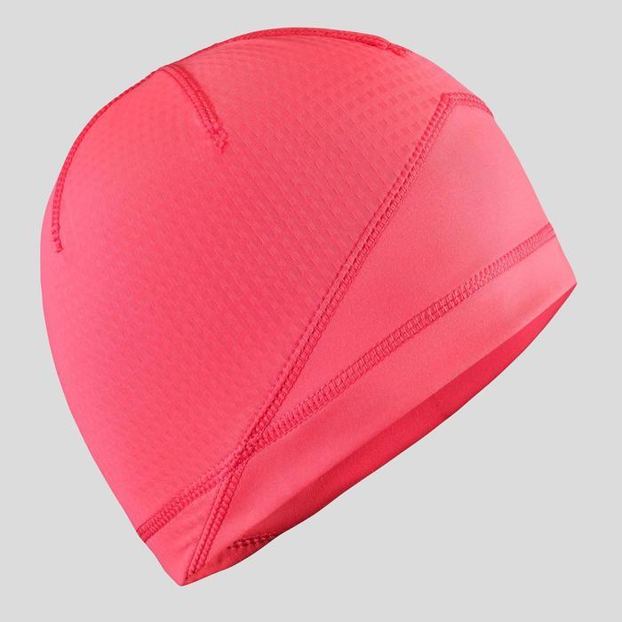 Langlaufmütze XC S Beanie 500 Kinder rosa