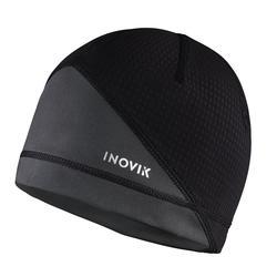 Bonnet de ski de fond noir - XC S bonnet 500 - ADULTE