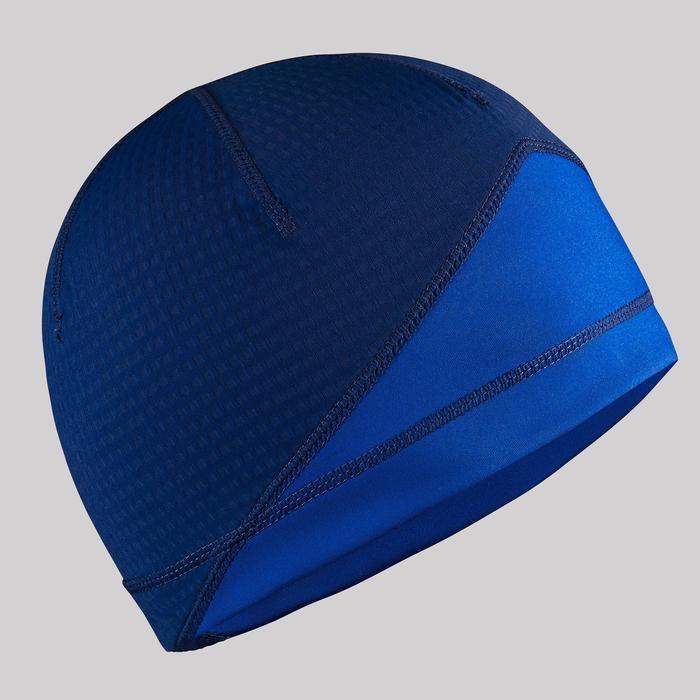 Gorro de esquí de fondo júnior azul XC S BEANIE 500 JÚNIOR