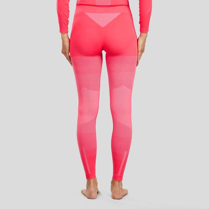 Bas de sous-vêtement technique rose pour le ski de fond XC S UW 500 femme