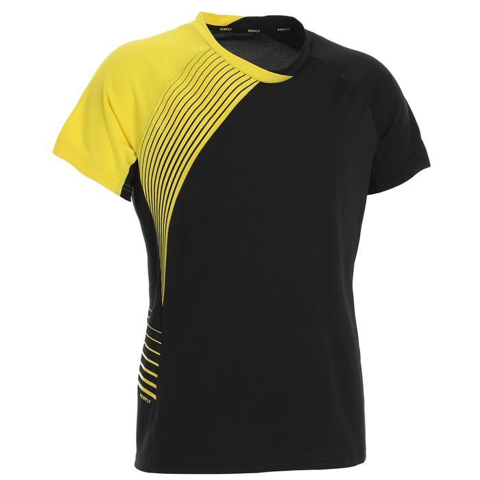 女款T恤530-黑黃配色