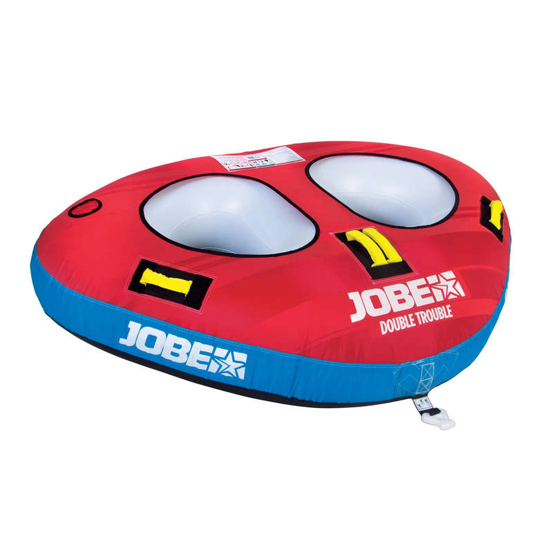TOWABLES TUBE All Watersports - Double Trouble 2P Towable JOBE - All Watersports