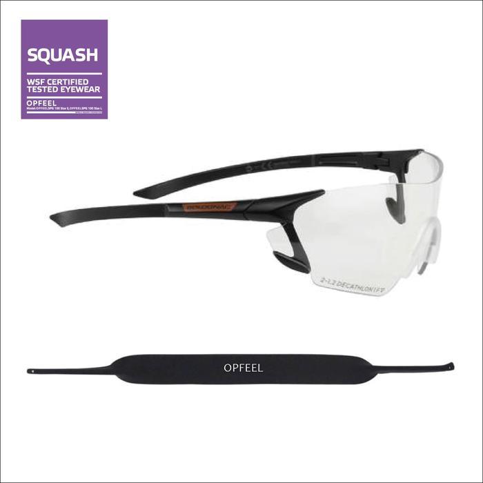 LUNETTES DE SQUASH SPG 500 L