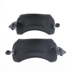 2 straps cheville pour 1 paire de fixations de snowboard wedze taille L (42/48)