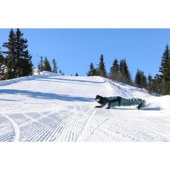 男款滑雪道與全山地單板滑雪板All Road 500 - 綠色/藍色與黑色。
