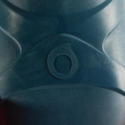 Palmes d'apnée freediving FRD100 gris fluo pour adultes