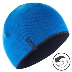 Omkeerbare skimuts marine/blauw