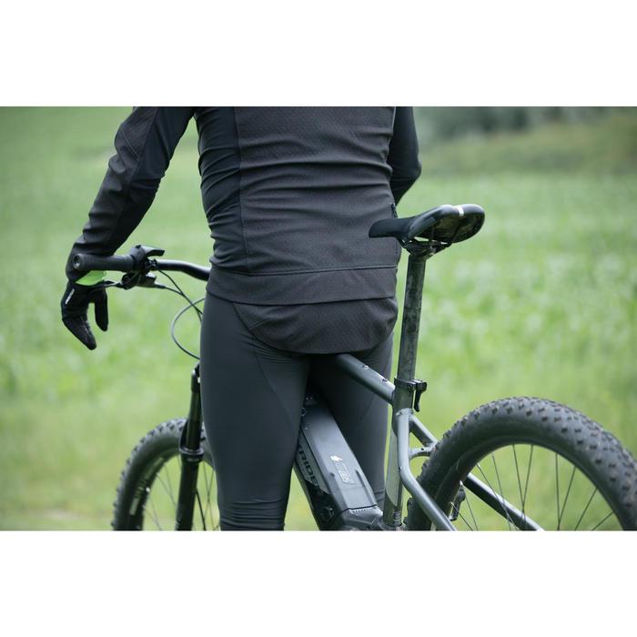 MTB Fahrradjacke ST 500 Herren schwarz/gelb