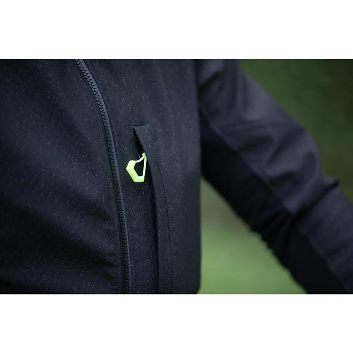 MTB jas heren ST500 zwart/geel