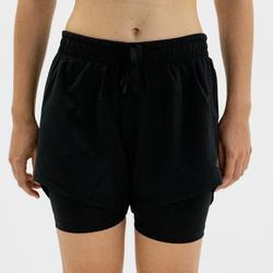 Short voor cardiofitness dames zwart