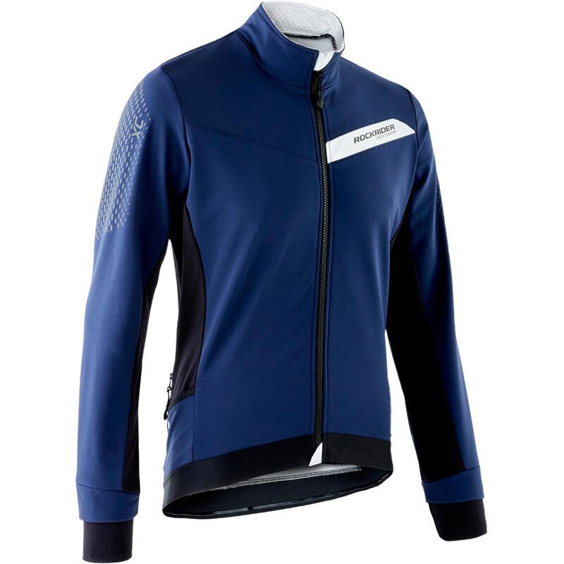 Slim-Fit XC Mountain Bike Jacket - Blue